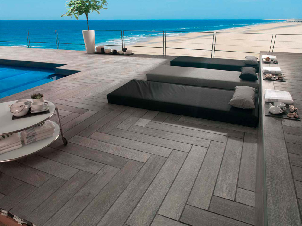 2 OXFORD ANTRACITA ANTISLIP 14X90 PORCELANOSA