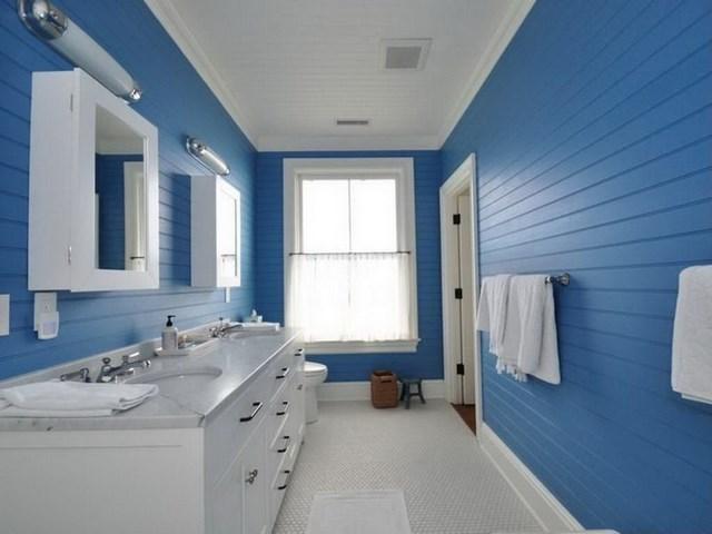 El Bano Azul.El Azul Como Color Del Verano Para El Bano La Cocina O El Suelo
