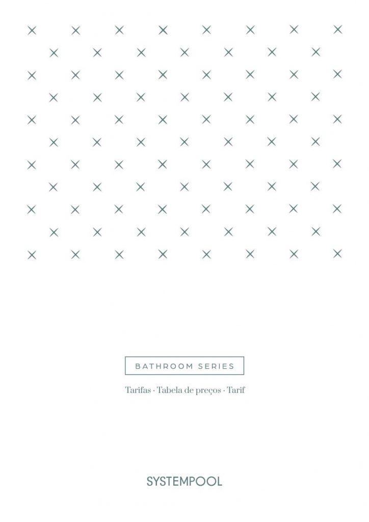 En este catálogo de baños encontraremos mobiliario y equipamiento para baño, mamparas, columnas, platos y conjuntos de ducha uncional.