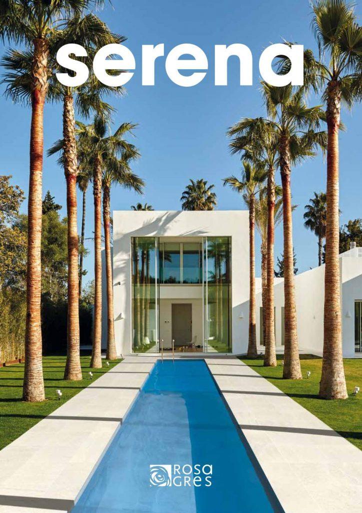 Serena es una colección que incluye pavimentos para exteriores como piscinas, tienen diferentes texturas, tamaños y colores.