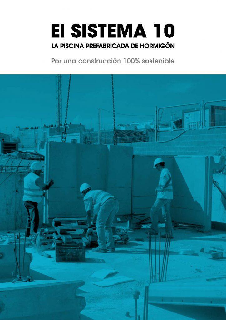 """Rosagres ofrece en su catálogo """"el sistema 10"""" una selección de piscinas de hormigón prefabricadas y con una construcción sostenible"""