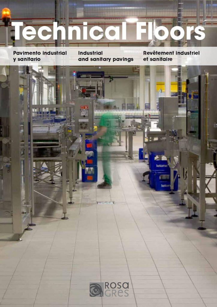 En este catálogo encontrarás diferentes modelos de pavimentos diseñados para el sector industria y sanitario.