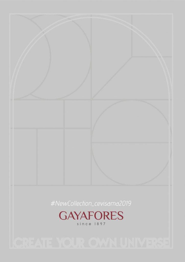 Colección Cevisama que incluye la última tecnología, experiencia y las mejores materias primas