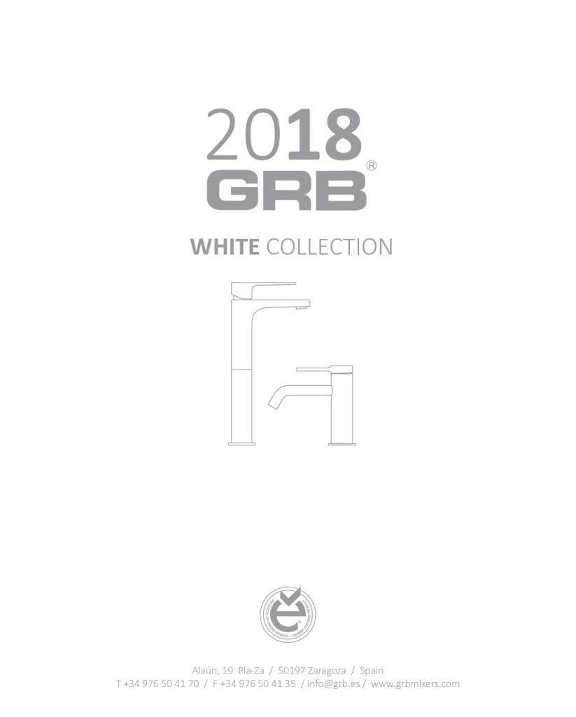 Esta colección nos ofrece una variedad de grifos de color blancos inteligentes para manos, cocina o ducha