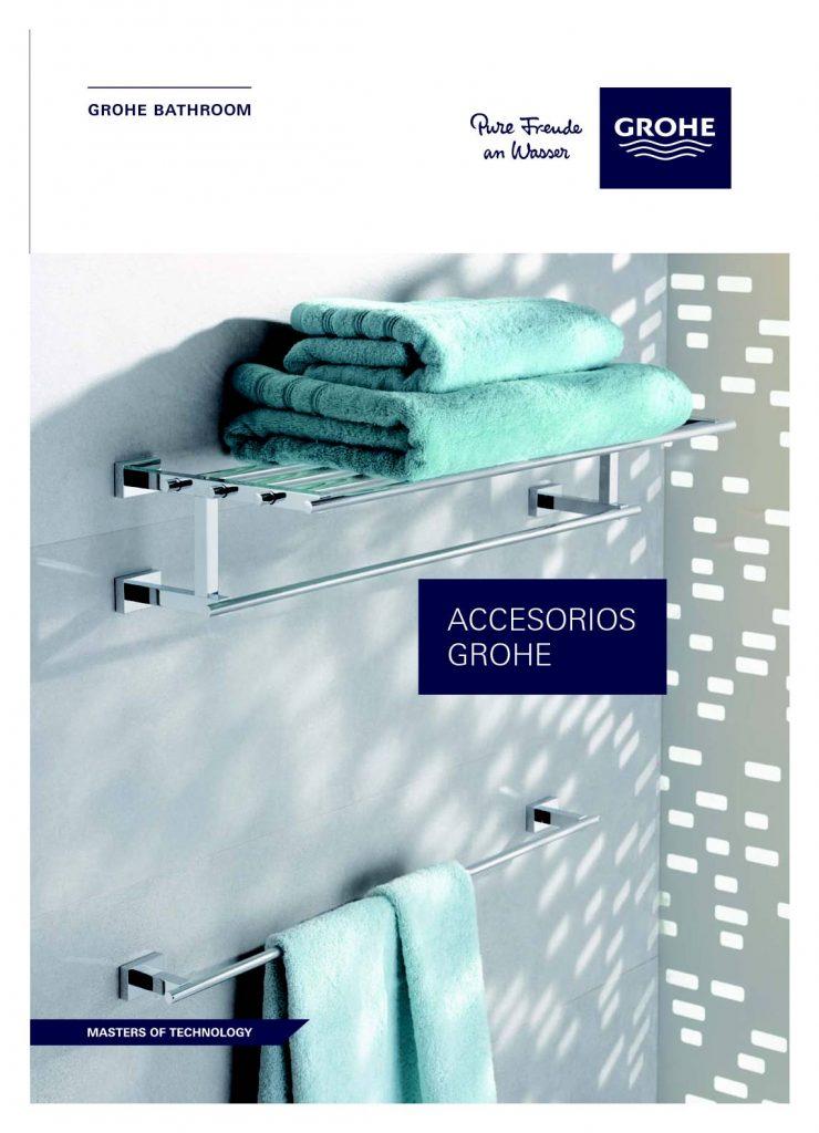 Este catalogo nos muestra los diferentes accesorios para baño. ideales para combinar con los diseños de duchas y bañeras