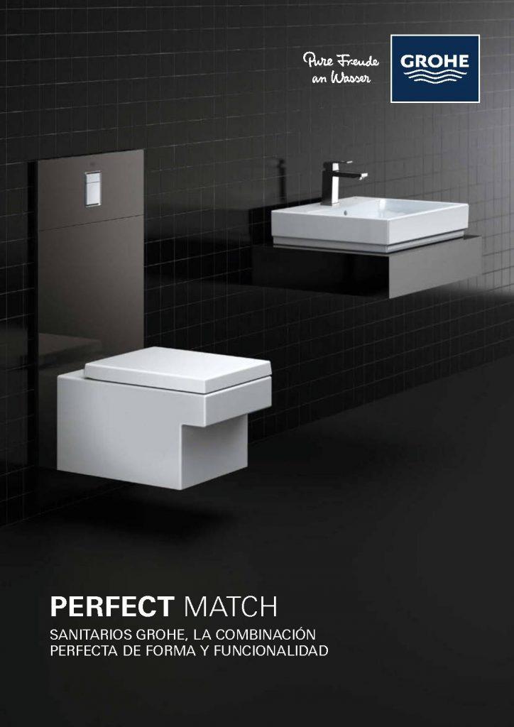 Catálogo de sanitaros que mezclan formas elegantes e innovadoras con una alta funcionalidad