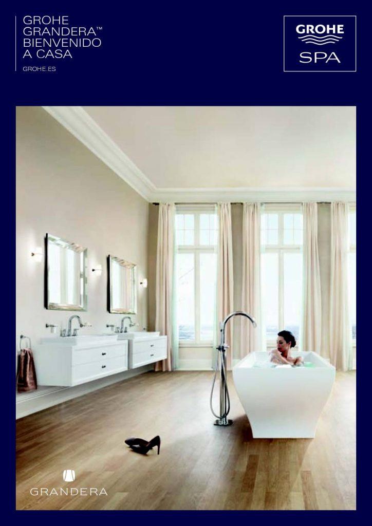 La serie Gandera ofrece bañeras de hidromasaje ideales para tener tu propio Spa en casa
