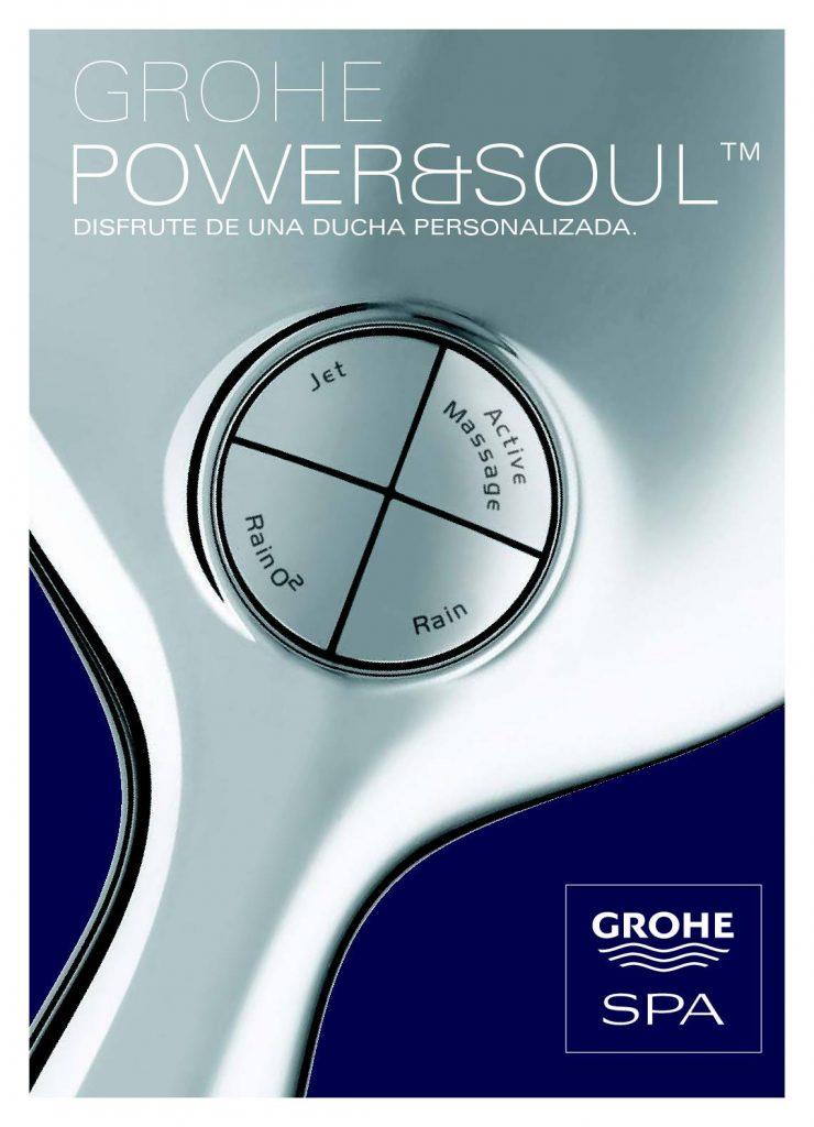 Power and Soul ofrece grifos de ducha personalizados para incluir las opciones que mejor se adapten a ti