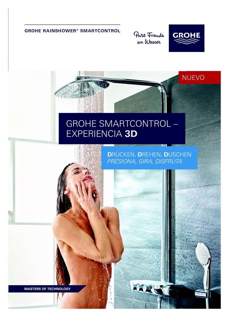 Grohe ofrece una serie de grifos con control inteligente para la ducha