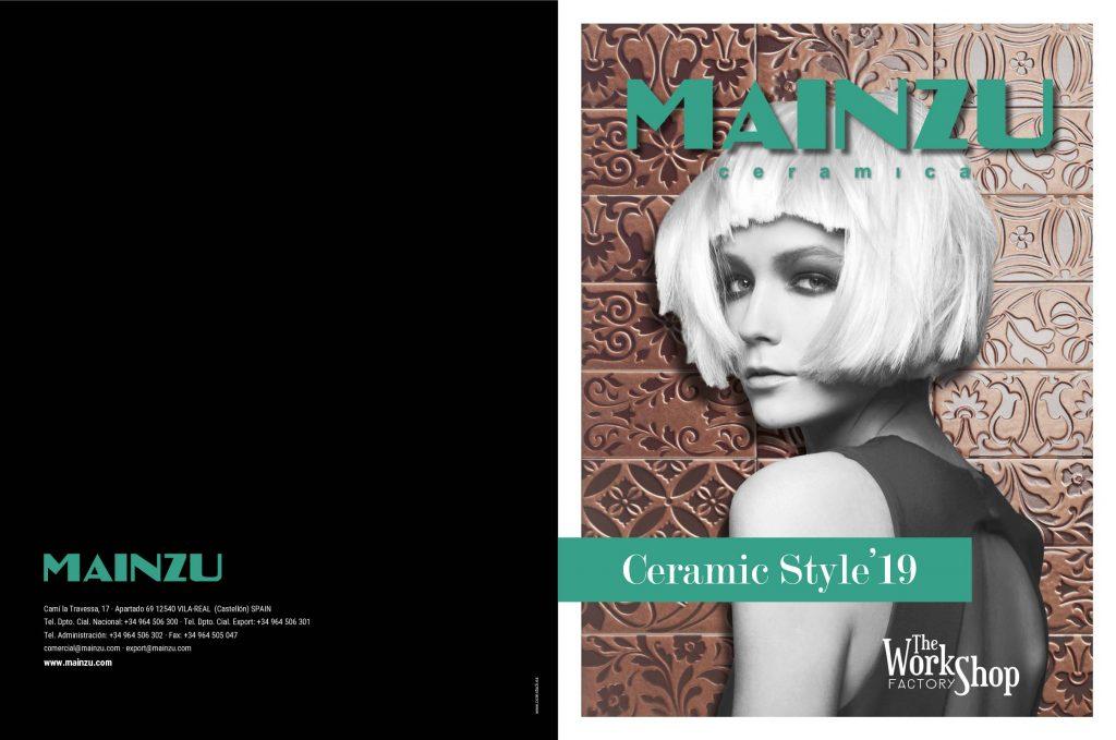 Con este catálogo Mainzu nos presenta las últimas tendencias en cerámica de este 2019