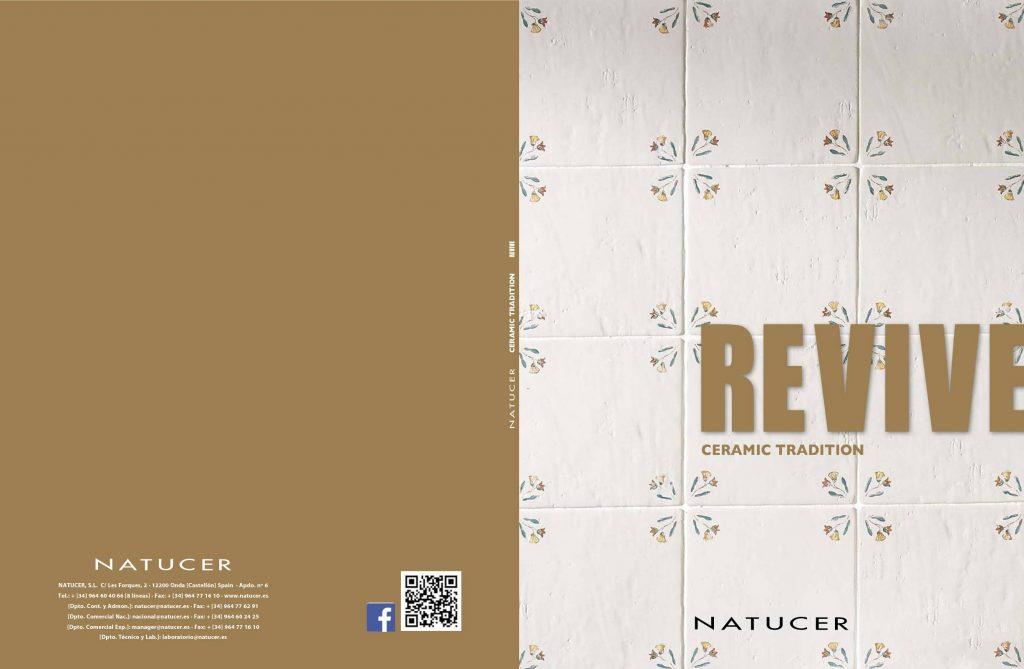 Revive nos ofrece piezas cuadradas de cerámica tradiciona l ideales para interiores como la cocina