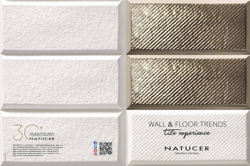 Natucer ofrece las ultimas tendencias en pavimentos y revestimientos con multitud de estilos.
