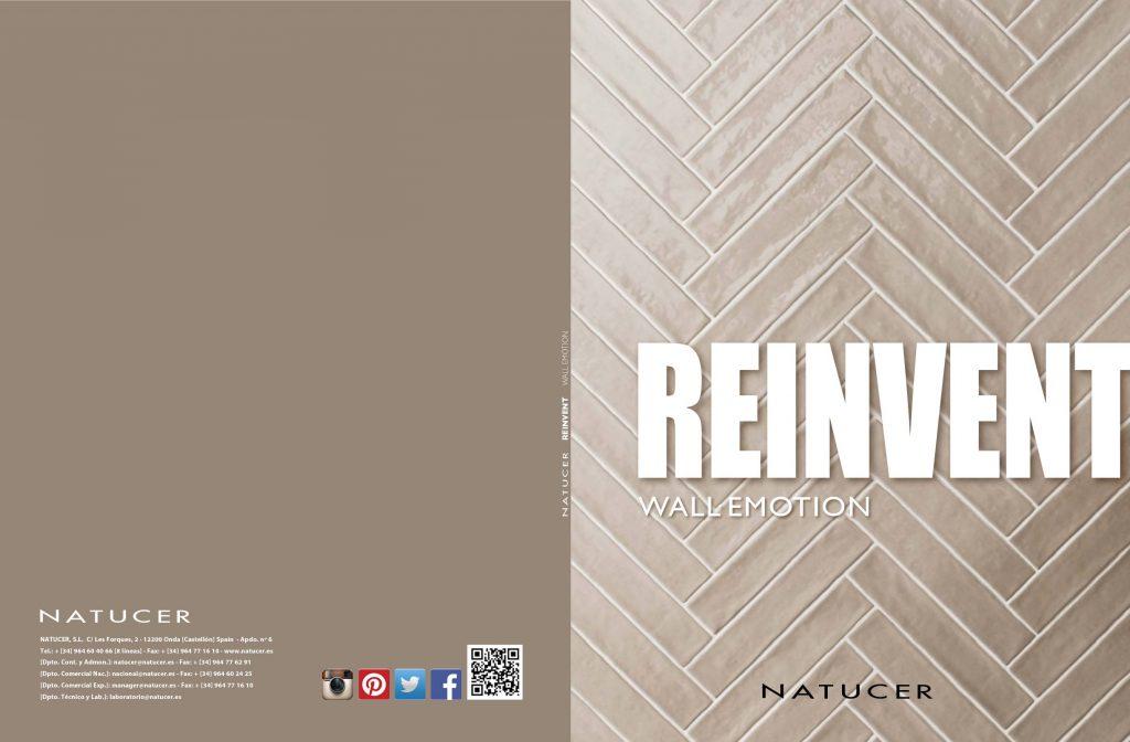 La serie Reinvent ofrece revestimientos con textura de madera de colores muy claros ideales para interiores