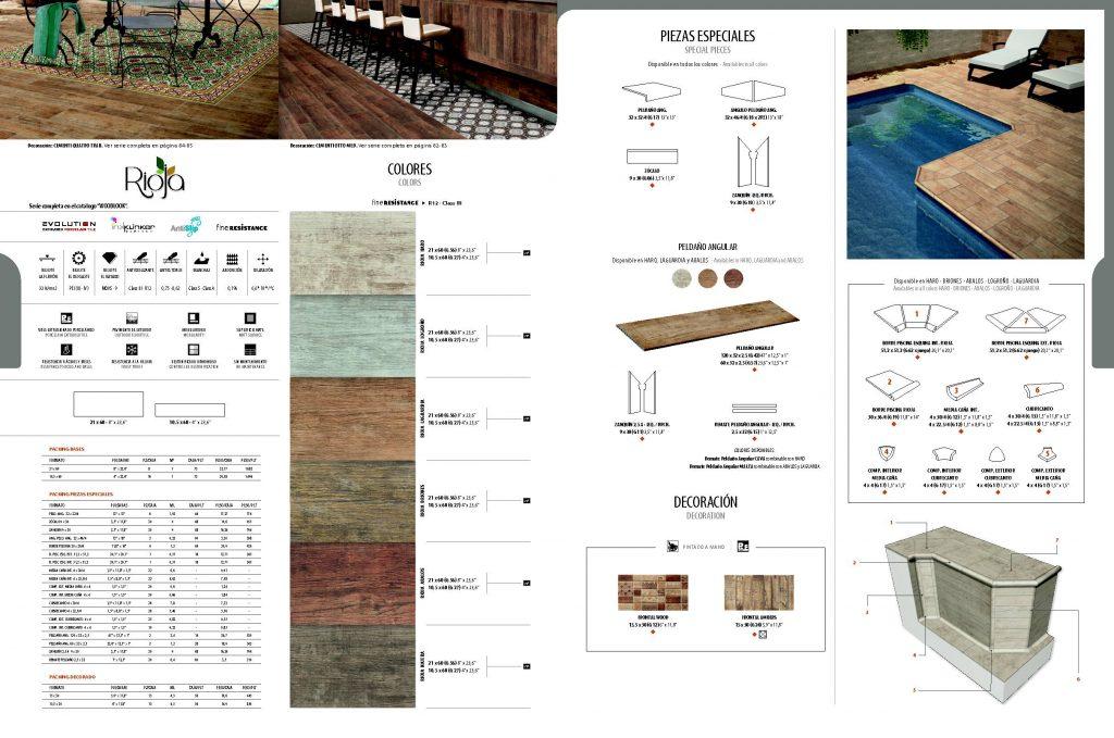 La serie Rioja ofrece revestimientos con textura de madera