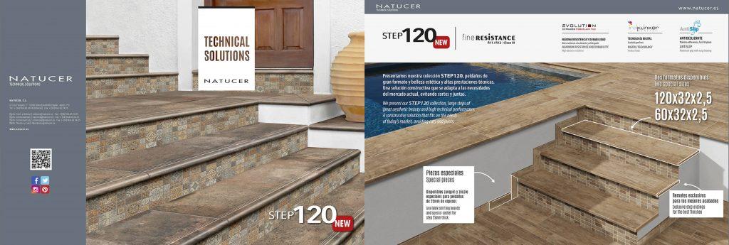 Catálogo de soluciones técnicas y de cerámicas anti resbalamiento y con acabado perfecto.