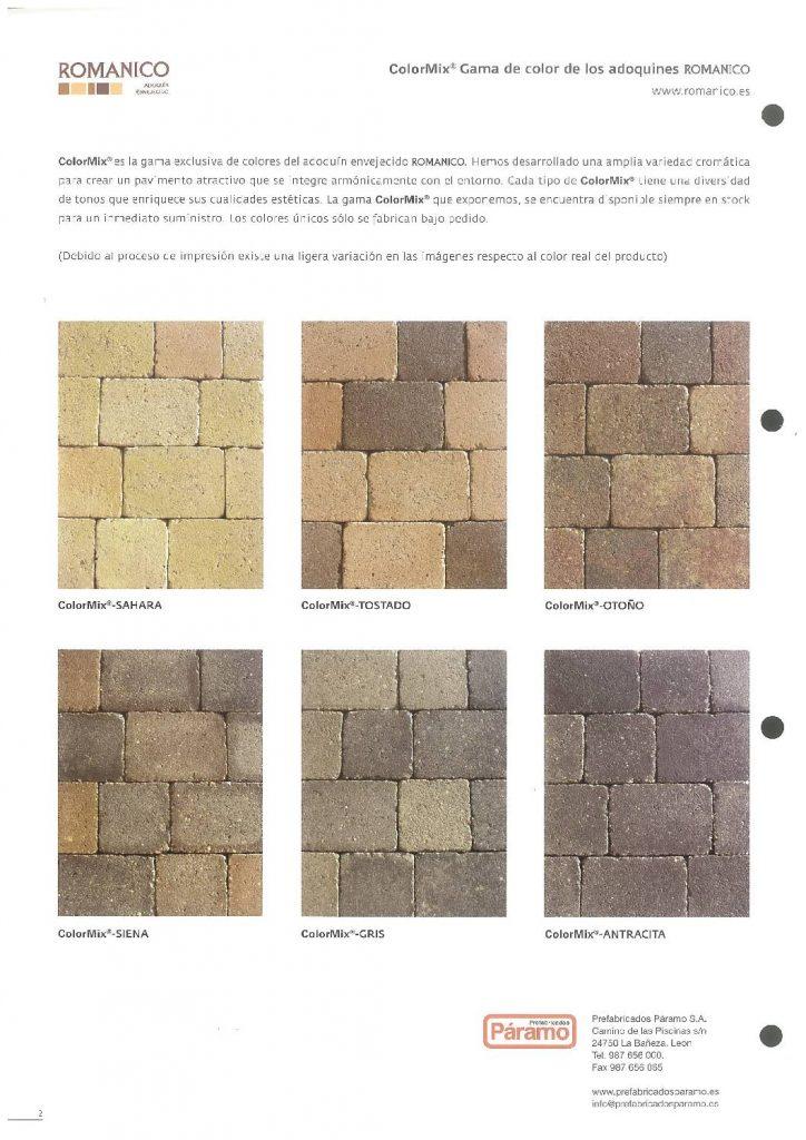 Este catálogo ofrece pavimentos envejecidos al estilo románico y con una gran gama cromática