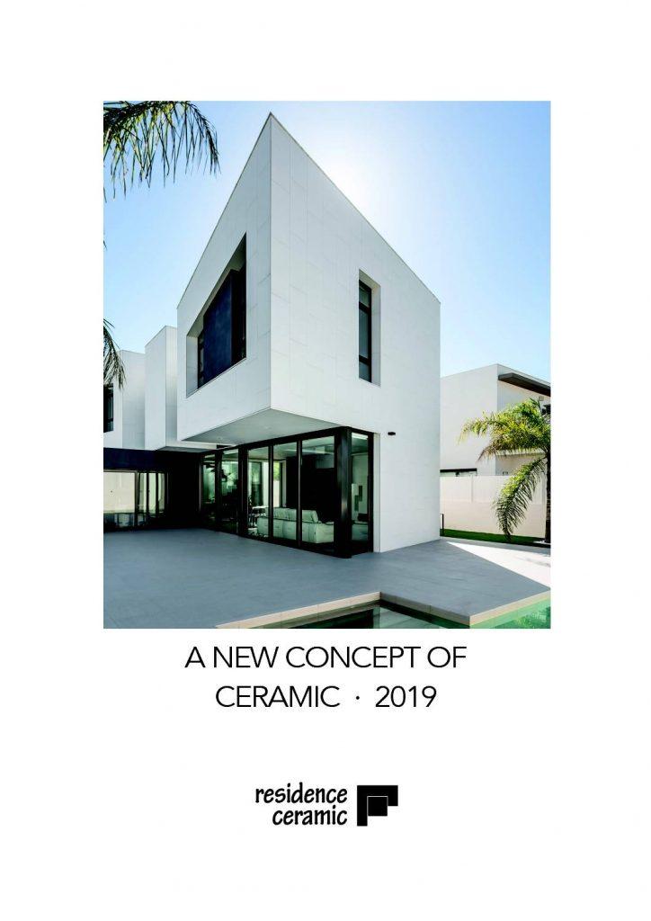 Residence nos muetra un nuevo concepcto de la cerámica aplicado a proyectos de casas de última generación