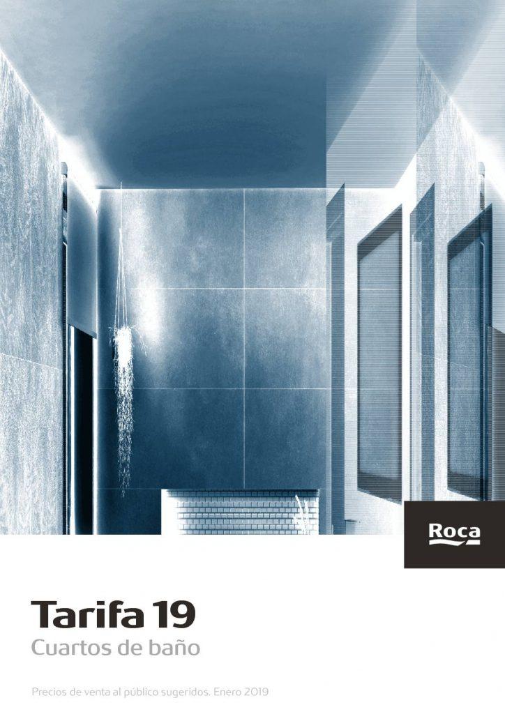 Catálogo de sanitarios de roca, cuartos de baño con diseños espectaculares y vanguardistas de última tecnología