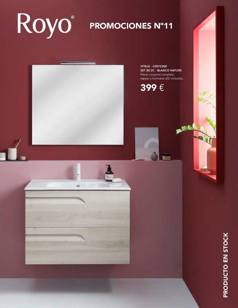 En este catálogo encontrarás las diferentes promociones de mobiliario y equipamiento innovador para baños.