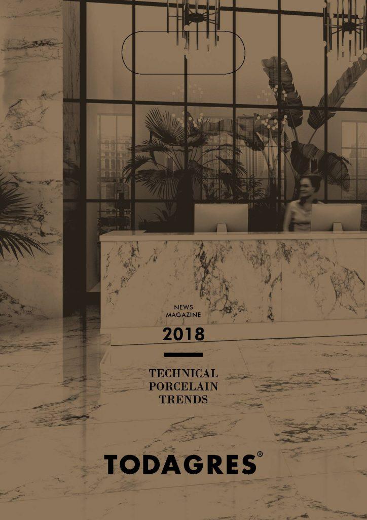 Catálogo de Novedades de Todagres pavimentos de porcelana acordes a las ultimas tendencias