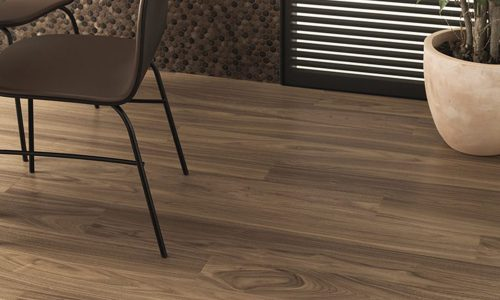 Trento 1L Walnut Colors Aluminium Chocolate