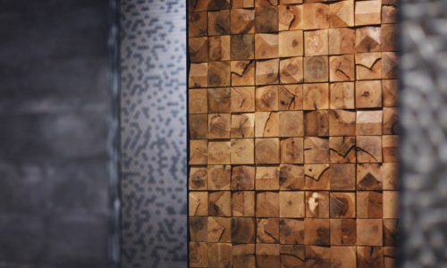 Wood cubes 1