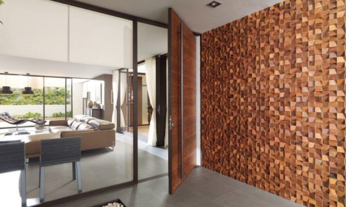 Wood Feel Puerta Yute 2
